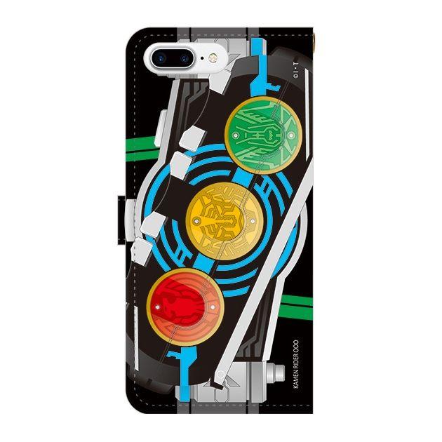 仮面ライダーオーズ 手帳型ケース iPhone 7 Plus【11月下旬】