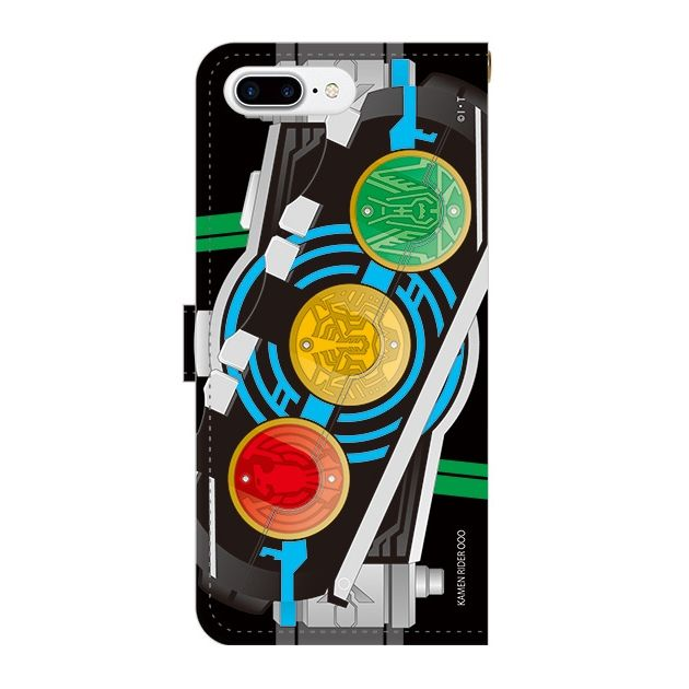 【iPhone7 Plusケース】仮面ライダーオーズ 手帳型ケース iPhone 7 Plus_0