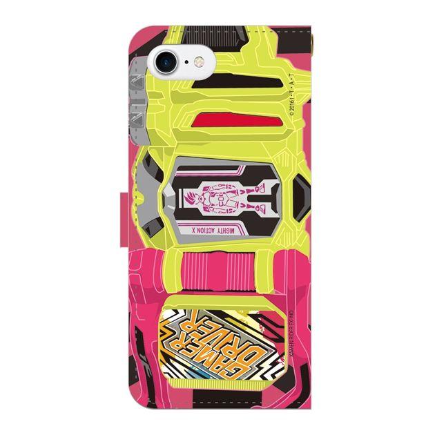[2018新生活応援特価]仮面ライダーエグゼイド 手帳型ケース iPhone 7