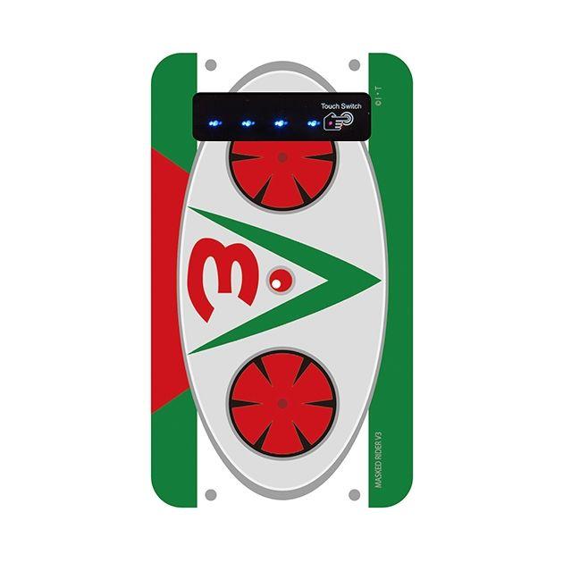 仮面ライダーV3(ブイスリー) モバイルバッテリー【1月下旬】