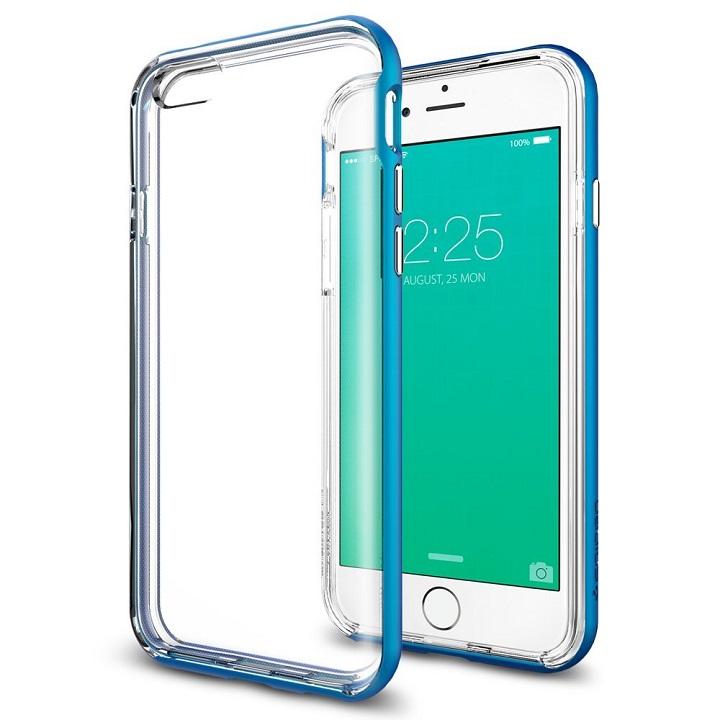 【iPhone6sケース】Spigen ネオハイブリッドEX  エレクトリックブルー iPhone 6s_0