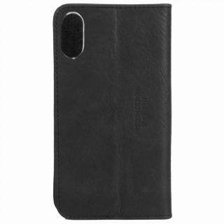 【iPhone Xケース】Krusell Sunne 手帳型レザーケース ブラック iPhone X_4
