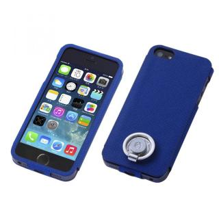 Multi Function Design Case  iPhone SE/5s/5 Violet Blue