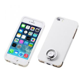 Multi Function Design Case  iPhone SE/5s/5 Vanilla White