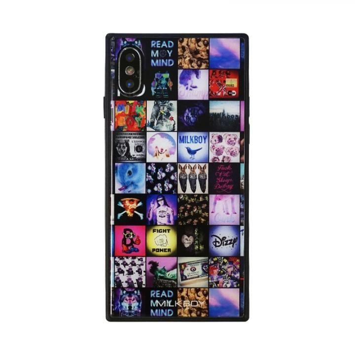 iPhone XS/X ケース MILKBOY 背面ガラスケース INSTAGRAM PATTERN iPhone XS/X_0