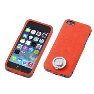 Multi Function Design Case  iPhone SE/5s/5 Orange Pink