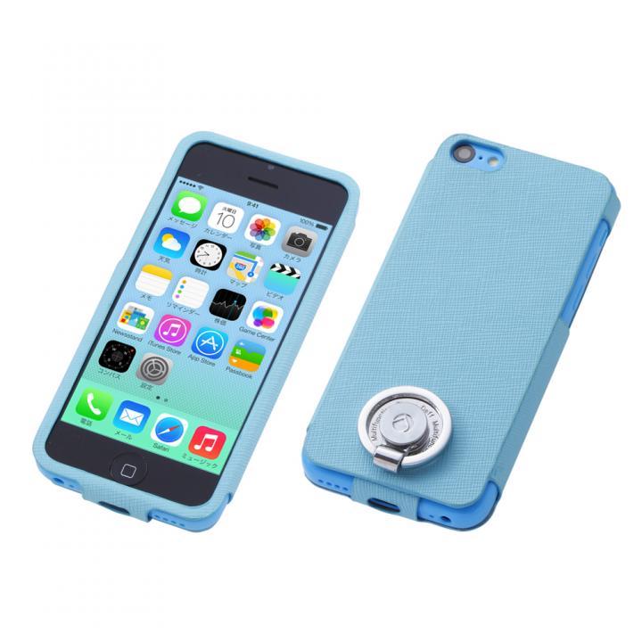 Multi Function Design Case  iPhone5c Tropical Blue_0