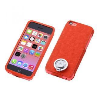 Multi Function Design Case  iPhone5c Orange Pink
