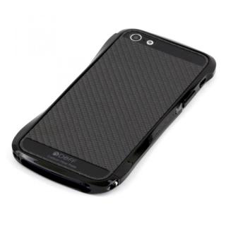 iPhone SE/5s/5 ケース Cleave Bumper Metallic & Carbon  iPhone SE/5s/5 Athlete Black