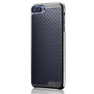 iPhone8 Plus/7 Plus ケース monCarbone KHROME ソフトカーボンケース ガンメタル/ブラック iPhone 8 Plus/7 Plus