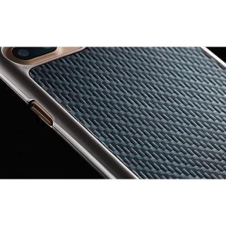 【iPhone8 Plus/7 Plusケース】monCarbone KHROME ソフトカーボンケース ガンメタル/ブラック iPhone 8 Plus/7 Plus_4