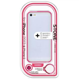 iPhone SE/5s/5 STONE 2 ハイブリッドケース ピンク