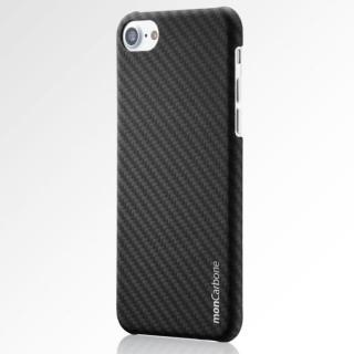iPhone8/7 ケース monCarbone HOVERKOAT ケブラーケース ステルスブラック マットタイプ iPhone 8/7