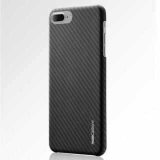 monCarbone HOVERKOAT ケブラーケース ステルスブラック マットタイプ iPhone 7 Plus