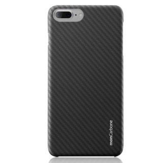 【iPhone8 Plus/7 Plusケース】monCarbone HOVERKOAT ケブラーケース ステルスブラック マットタイプ iPhone 8 Plus/7 Plus_1