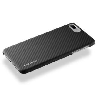 【iPhone8 Plus/7 Plusケース】monCarbone HOVERKOAT ケブラーケース ステルスブラック マットタイプ iPhone 8 Plus/7 Plus_2