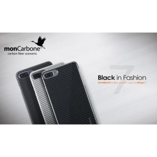 【iPhone8 Plus/7 Plusケース】monCarbone HOVERKOAT ケブラーケース ステルスブラック マットタイプ iPhone 8 Plus/7 Plus_4