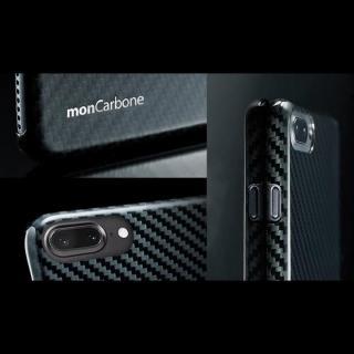 【iPhone8 Plus/7 Plusケース】monCarbone HOVERKOAT ケブラーケース ステルスブラック マットタイプ iPhone 8 Plus/7 Plus_5