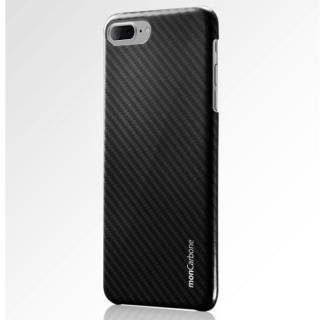 monCarbone HOVERKOAT ケブラーケース ミッドナイトブラック 光沢タイプ iPhone 8 Plus/7 Plus