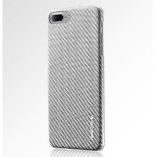 iPhone8 Plus/7 Plus ケース monCarbone HOVERKOAT ケブラーケース シルバー iPhone 8 Plus/7 Plus