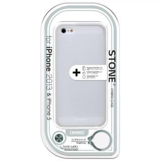 iPhone SE/5s/5 STONE 2 ハイブリッドケース ホワイト