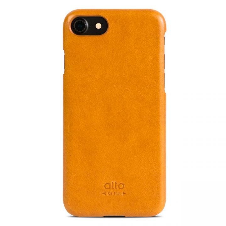【iPhone7ケース】イタリア製本革ケース alto Original ライトブラウン iPhone 7_0