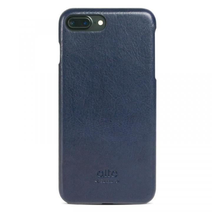 【iPhone7 Plusケース】イタリア製本革ケース alto Original ネイビー iPhone 7 Plus_0