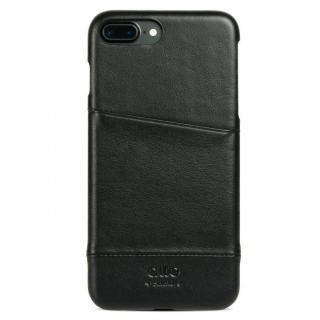 イタリア製本革ケース カードホルダー搭載 alto Metro ブラック iPhone 7 Plus