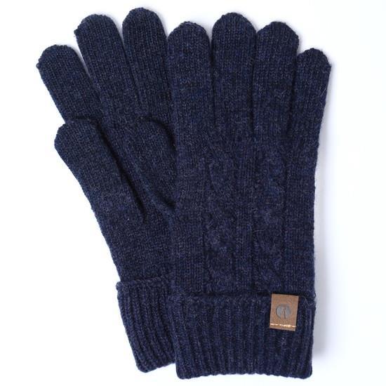 スマホ対応手袋 iTouch Gloves CABLE ネイビー_0