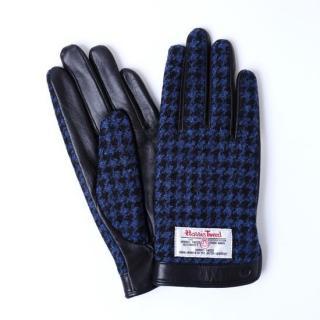 スマホ対応手袋 iTouch Gloves  ハリスツイード S/ブラック千鳥