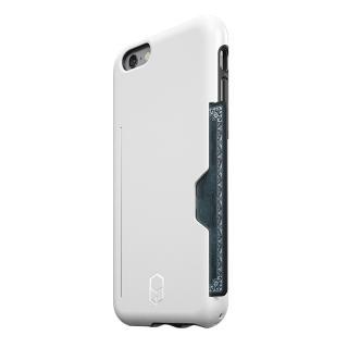 ICカード対応耐衝撃ケース ITG Level PRO ホワイト iPhone 6s/6