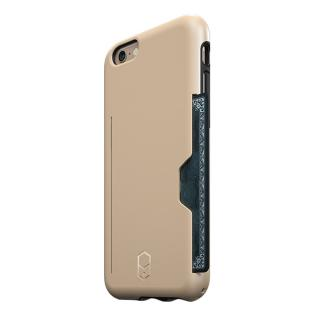 ICカード対応耐衝撃ケース ITG Level PRO サンド iPhone 6s/6