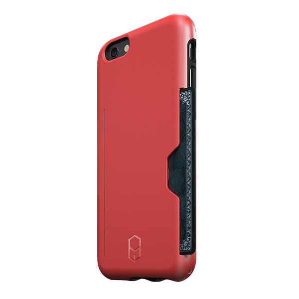 iPhone6s/6 ケース ICカード対応耐衝撃ケース ITG Level PRO レッド iPhone 6s/6_0