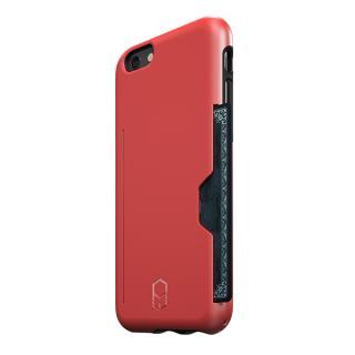 ICカード対応耐衝撃ケース ITG Level PRO レッド iPhone 6s/6
