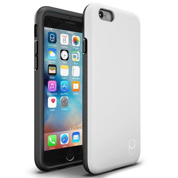 iPhone6s/6 ケース 耐衝撃ケース + 強化ガラスセット ITG Level 1 パック ホワイト iPhone 6s/6_0