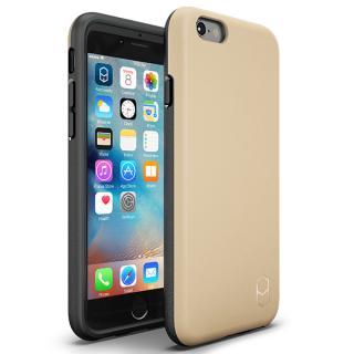 耐衝撃ケース + 強化ガラスセット ITG Level 1 パック サンド iPhone 6s/6