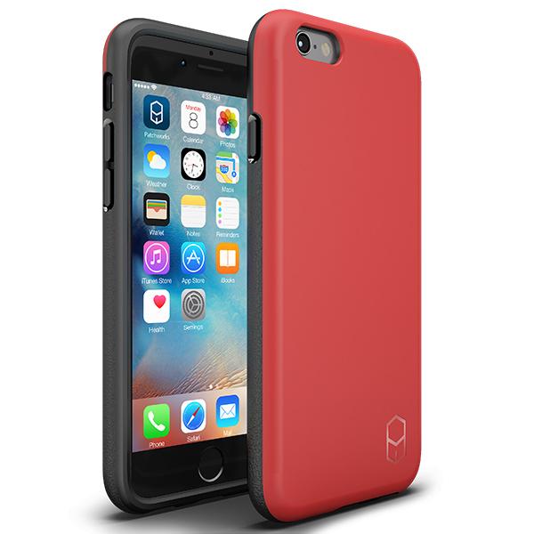 iPhone6s Plus/6 Plus ケース 耐衝撃ケース + 強化ガラスセット ITG Level 1 パック レッド iPhone 6s Plus/6 Plus_0