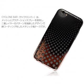 【iPhone6s/6ケース】メタリックケース CYCLONE Bar ブロンズゴールド iPhone 6s/6_1