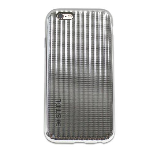 iPhone6s/6 ケース メタリックケース JET SET Bar シルバー iPhone 6s/6_0