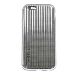 iPhone6s/6 ケース メタリックケース JET SET Bar シルバー iPhone 6s/6