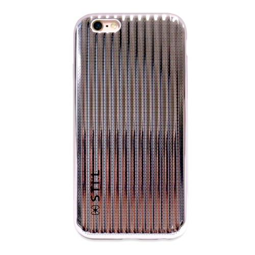 iPhone6s/6 ケース メタリックケース JET SET Bar ピンク iPhone 6s/6_0