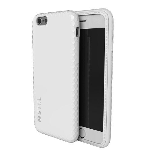 【iPhone6s/6ケース】ジュエリーカッティングパターンケース JEWEL EDGE Bar ホワイト iPhone 6s/6_0