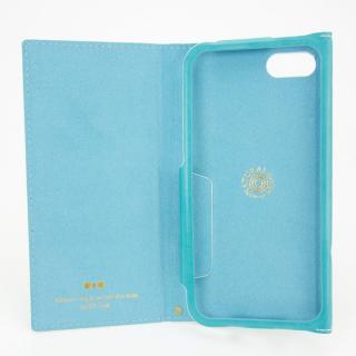 【iPhone8 Plus/7 Plusケース】PUレザー手帳型リボンケース Ruban ターコイズ iPhone 8 Plus/7 Plus_2