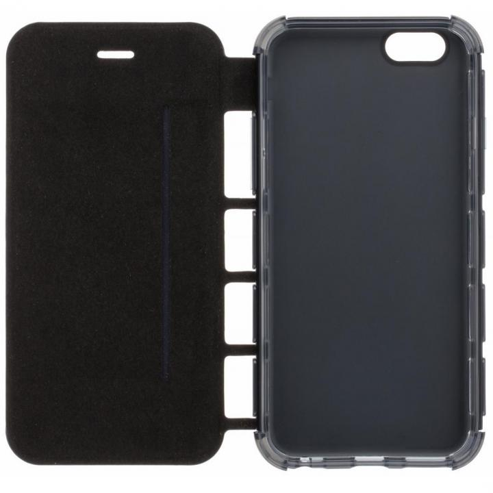 耐衝撃手帳型ケース EQUAL Air Shock ブラック iPhone 6s/6