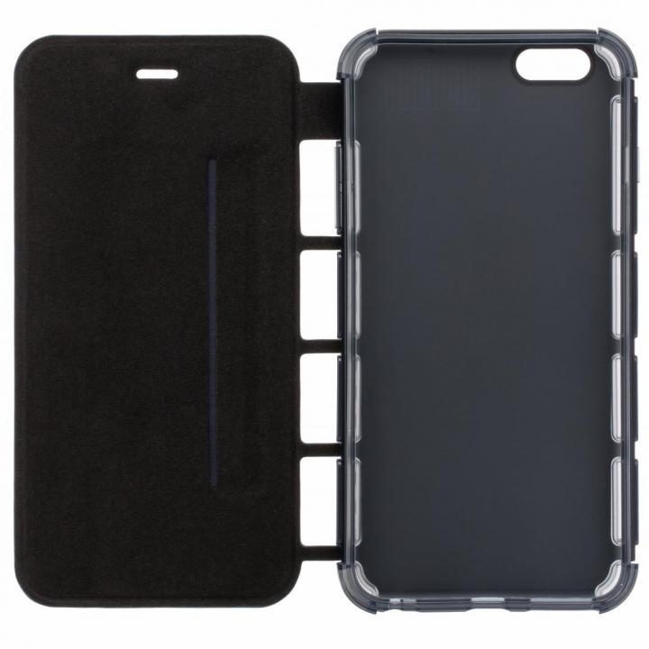 【iPhone6s/6s Plusケース】耐衝撃手帳型ケース EQUAL Air Shock ブラック iPhone 6s Plus/6 Plus_0