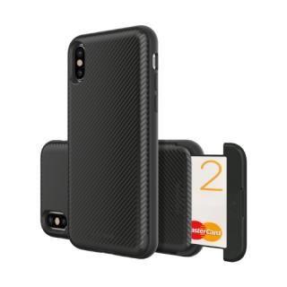 Matchnine CARDLA SLOT ブラックカーボン iPhone XS/X