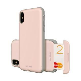 Matchnine CARDLA SLOT ペール ドッグウッド ピンク iPhone X