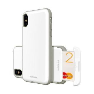 Matchnine CARDLA SLOT ホワイト iPhone X