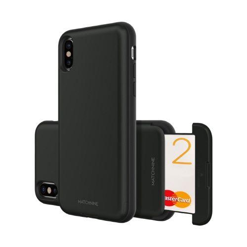 Matchnine CARDLA SLOT ブラック iPhone X