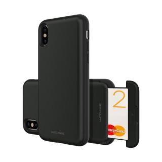 Matchnine CARDLA SLOT ブラック iPhone XS/X